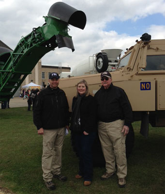 On Saturday March 2nd FBICAA members, COS Craig Betbeze, and FBI SWAT personnel participated in Junior League of New Orleans' Touch-A-Truck event. The event provided children and families with a unique, interactive, one-day experience giving them an up-close look at their favorite big trucks and vehicles.